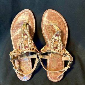 Sam Edelman beaded sandal.